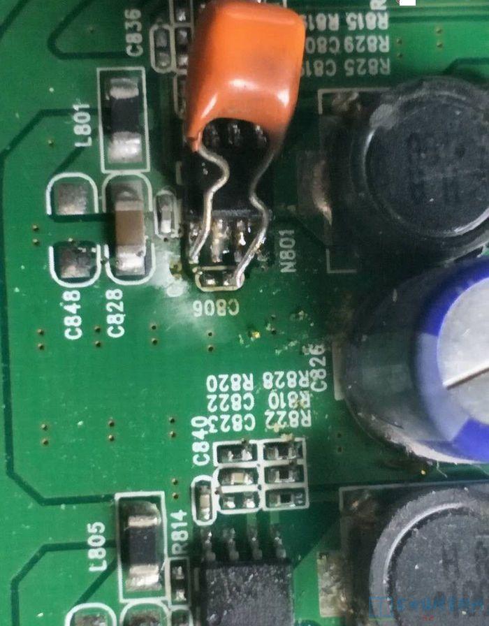 康佳液晶电视lc26e530白屏故障检修一例