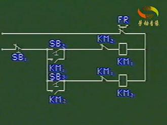 星--三角起动控制线路