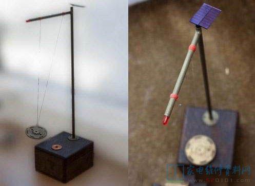 太阳能电子钟摆