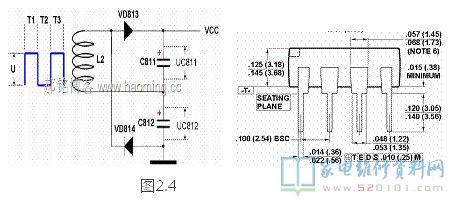 海信tlm40v68p液晶电源板(1673板)电路原理分析