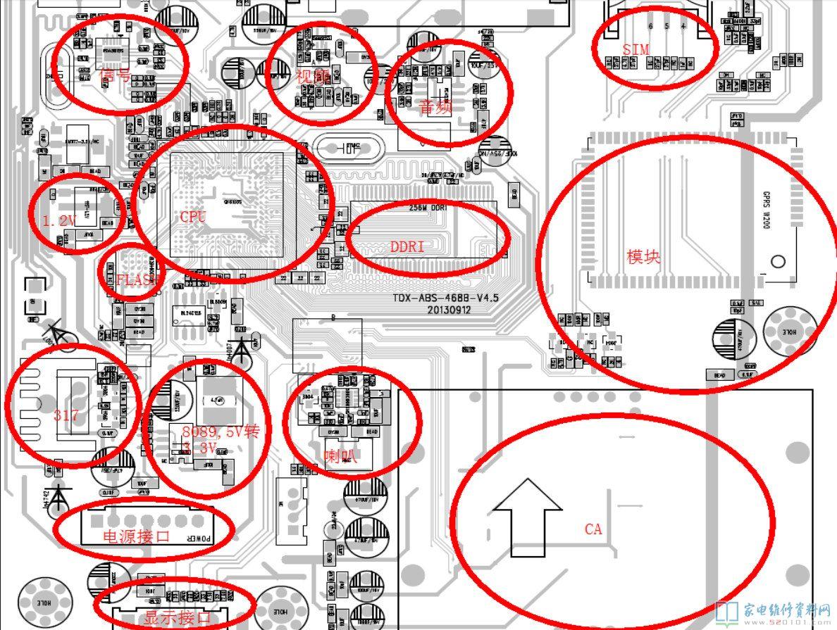 家电维修入门教程_天地星户户通机顶盒维修基础教程(图) - 家电维修资料网
