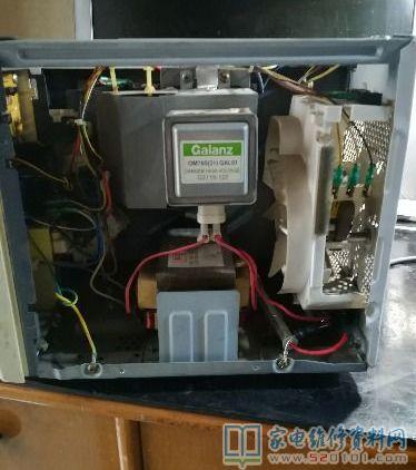 微波炉磁控管检测_微波炉的磁控管维修过程(图) - 家电维修资料网