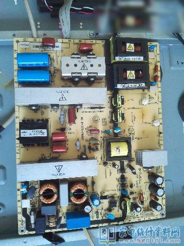 42寸电视机功率_TCL 42V10FBE液晶电视通电后背光一亮即灭的故障维修 - 家电维修资料网