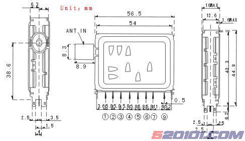 大锅高频头安装图_VD1002-IHBY高频头参数(图) - 家电维修资料网