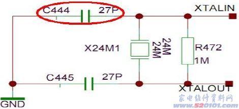 故障现象:不开机  分析与检修:通电后指示灯不亮,检查电源板3.