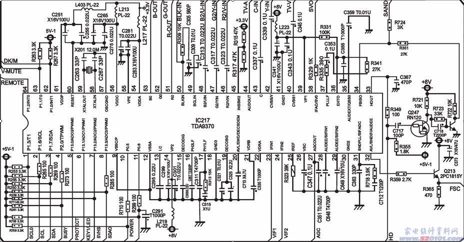 长虹chd-6机芯彩电维修手册