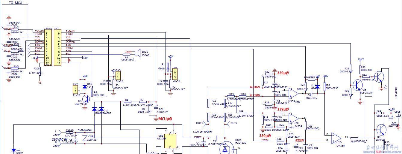 美的电磁炉散件维修技巧与方法