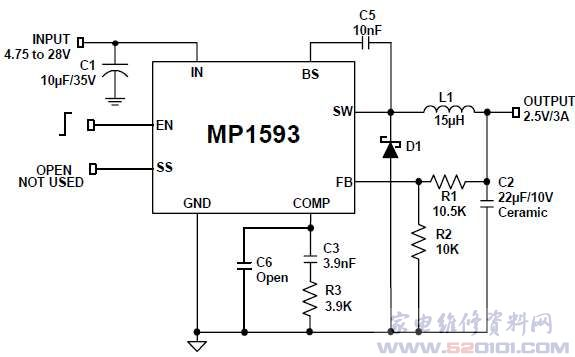 mp1593-c218降压转换器