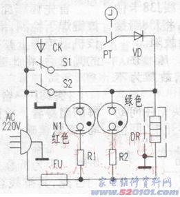 飞鹿电压力锅密封圈_飞鹿DZY1-22电压力锅原理与维修(图)