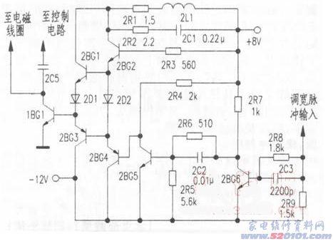 格兰仕电磁炉维修_杂牌CH-1570电磁炉通电能加热,但不能保温(图) - 家电维修资料网