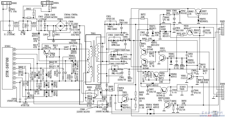 29种彩电开关电源电路图和原理说明(图)