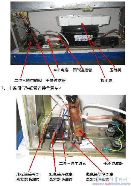 空调压缩机原理图_康佳BCD-232EMS电冰箱原理和维修(图)