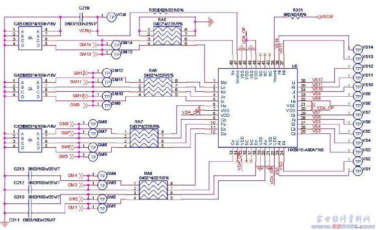 目录 实物图; •LCD屏逻辑板结构图; •DC/DC变换电路;采用TPS65161的DC/DC电路维修案例 •Gamma校正电压,VCOM电压发生器; •LVDS//LVCMOS/LVTTL格式转换电路; 奇美V315B3-L01 REV.C1屏逻辑板实物图  LCD屏逻辑板结构图  采用TPS65161的DC/DC电路实物 该电路的作用是产生屏所需的VGL,VGH, 以及gamma电压发生器所需的VDA:15.