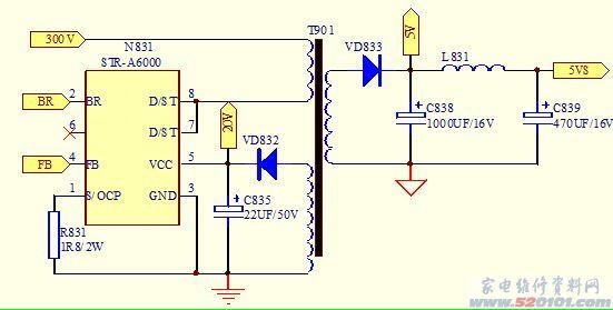 led变压器进线接法图解