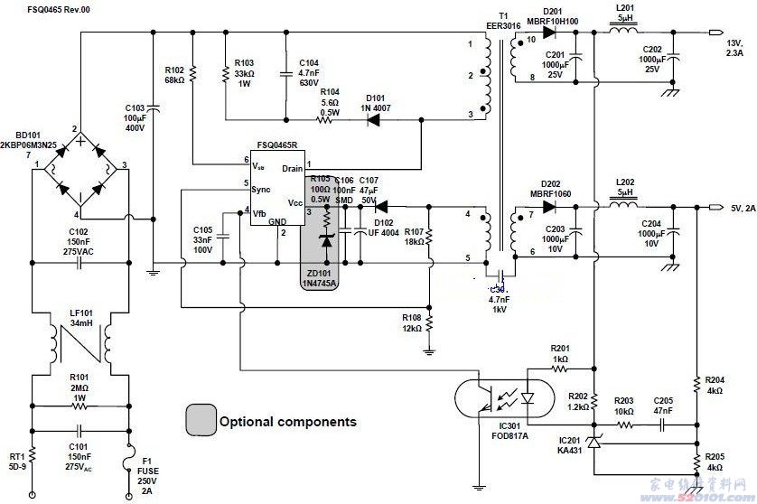 集成电路芯片结构图