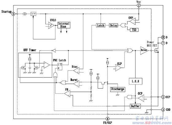 创维52寸液晶电视电源的各主ic讲解(图) .