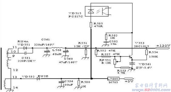 str-f6656集成块参数和电路应用