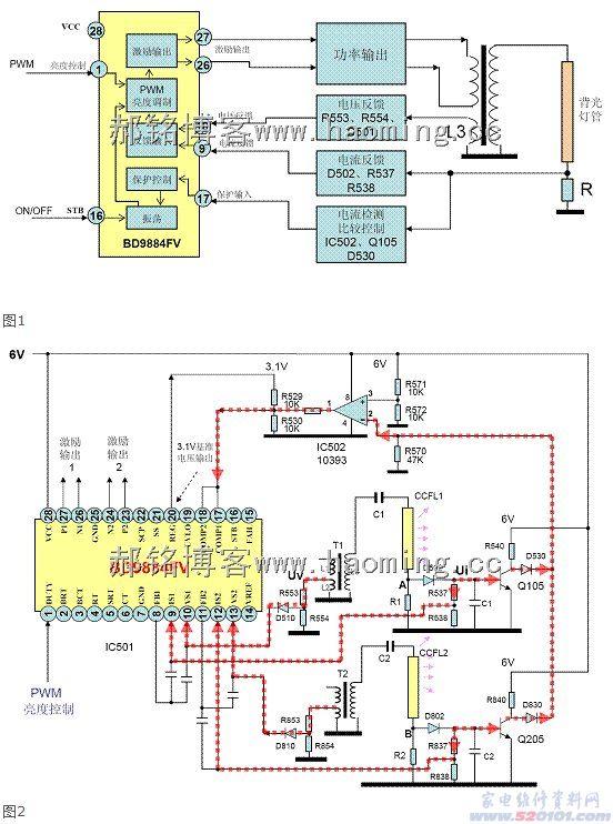 电子大屏自动开/关机电路原理图分析