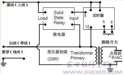 简易电焊机的制作方法 附图纸图片