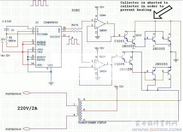 220伏逆变器电路