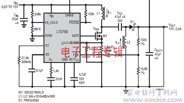 dc/dc开关电源控制器设计要点