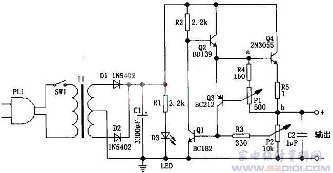 放大电路如图 100 0.7