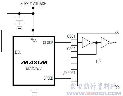 max7377典型应用电路