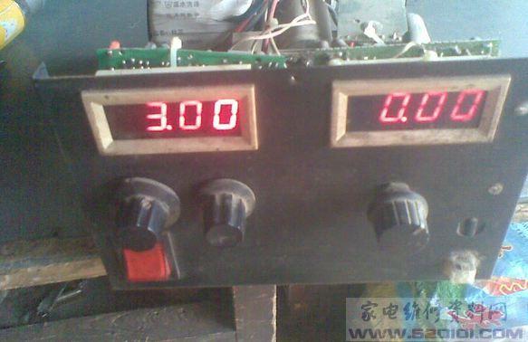 一款大电流稳压可调电源电路图