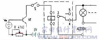 太阳能光控开关电路的制作