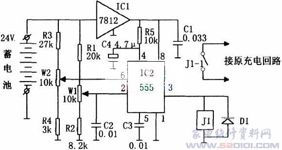 电池电压监控电路