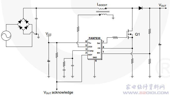 fan7930典型应用电路
