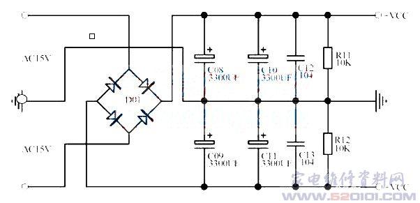 tda2030音频功率放大电路的制作