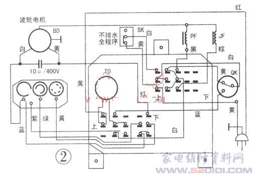凤凰全自动洗衣机控制原理及检修