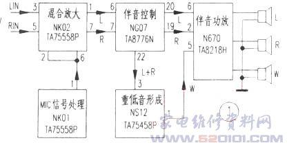 海信tc2930k彩电无伴音故障检修