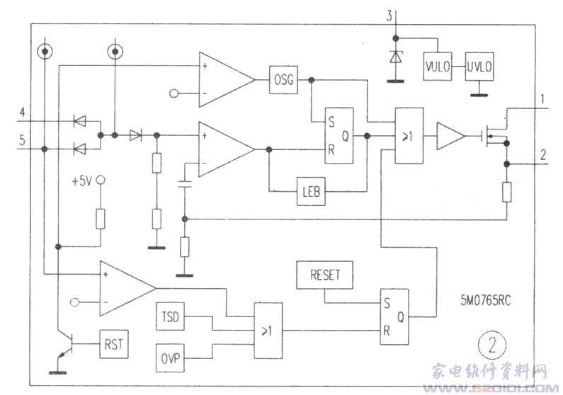 厦华l22a1k数字高清液晶电视开关电源电路工作原理及