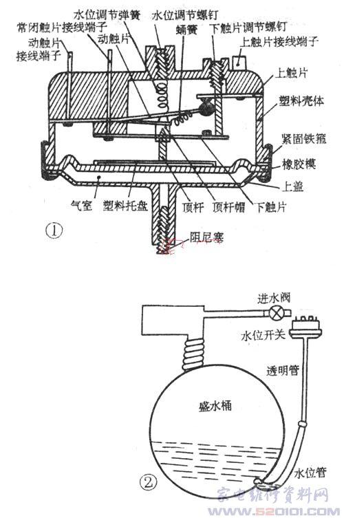 电热开水桶维修示意图