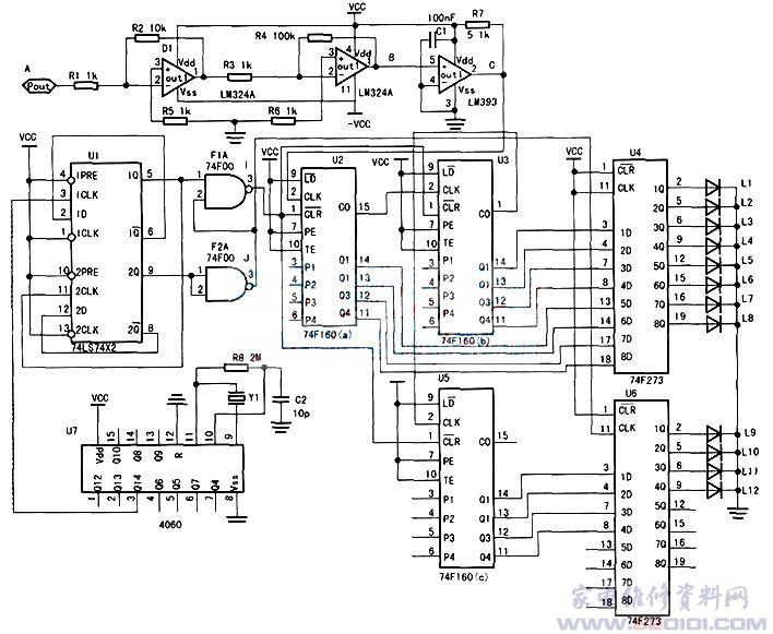 b端为放大电路的输出端