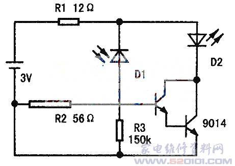 用2个废圆珠笔铜头做频率计测试接线柱与晶振测试夹焊在一起,测试夹连