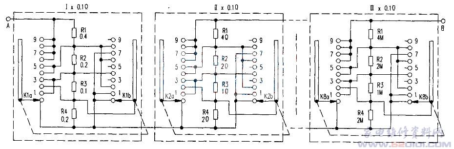 yzr180l6电阻箱接线图