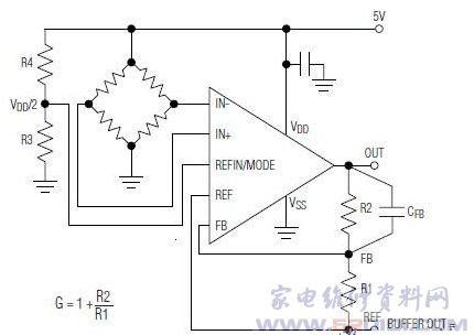 max4208典型应用电路
