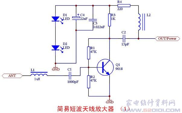 图4是这个放大器的电路板