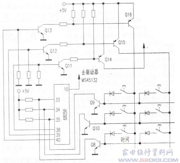 格力kf-25gw型分体空调控制电路检修