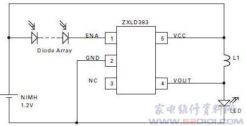 zxld383典型应用电路
